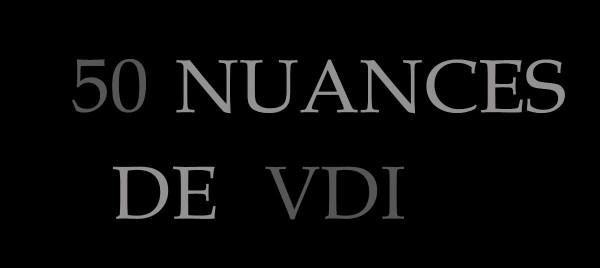 50 NUANCES DE VDI
