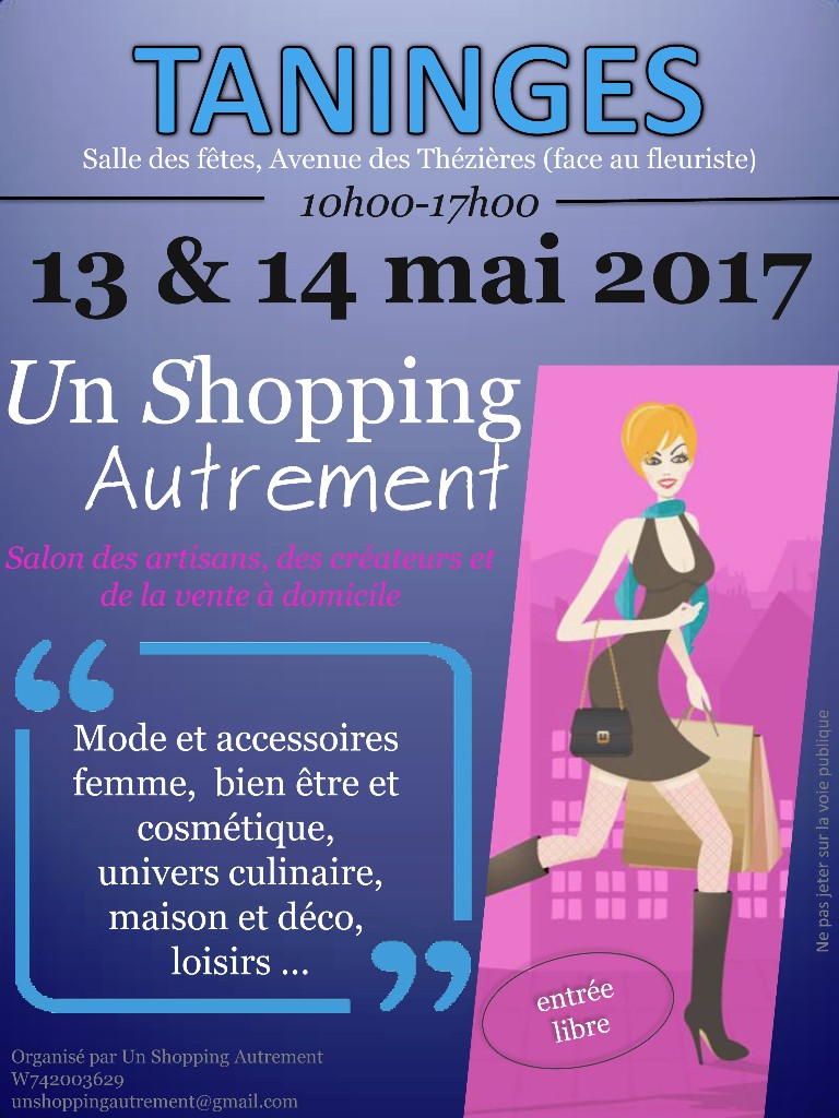 Un shopping autrement a taninges 74 objectifvdi for Salon vdi