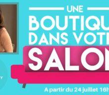 """MARTINE :  J'AI PARTICIPÉ A L'AVENTURE """"UNE BOUTIQUE DANS MON SALON"""""""