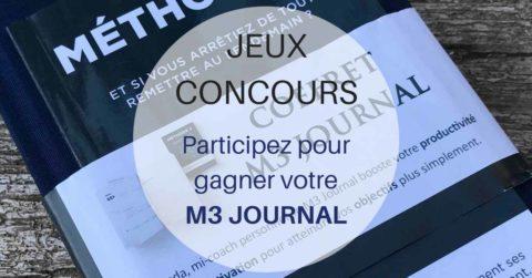 Jeux concours M3 JOURNAL