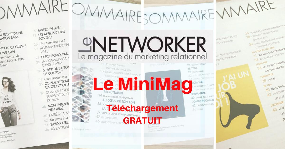 MiniMag Networker Magazine