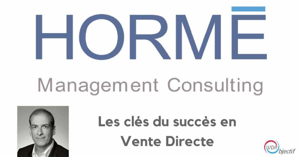 Conférences formations - Les clés du succès en Vente Directe