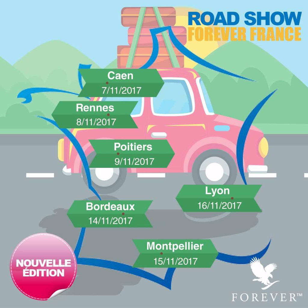 ROAD-SHOW-FOREVER-PRODUCTS-CASTELNAU-LE-LEZ