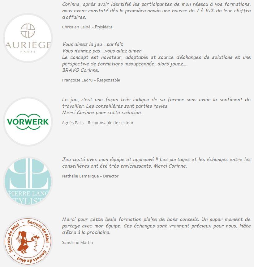 Témoignages - 52 conseils pour réussir en vente directe