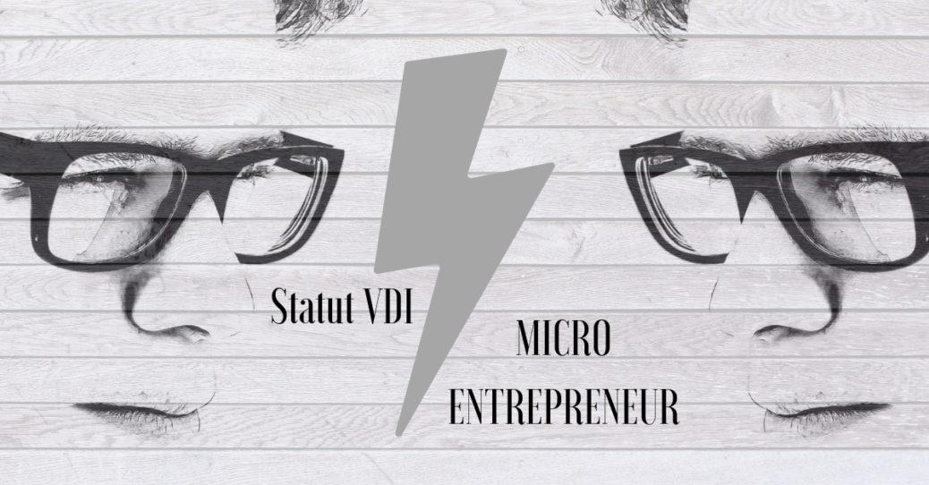 Statut Vdi Et Regime Micro Entrepreneur Comparatif Objectifvdi