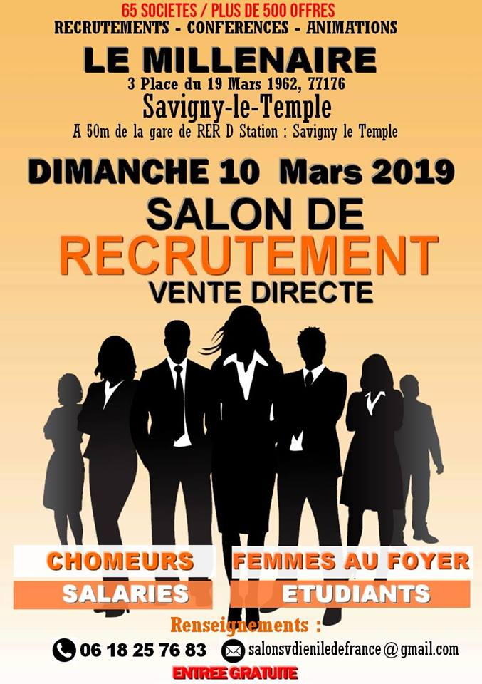 SALON-DE-RECRUTEMENT-VENTE-DIRECTE-SAVIGNY-LE-TEMPLE
