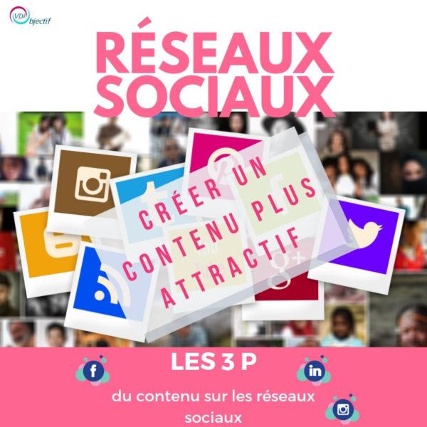 Créer du contenu plus attractif - Les 3 P