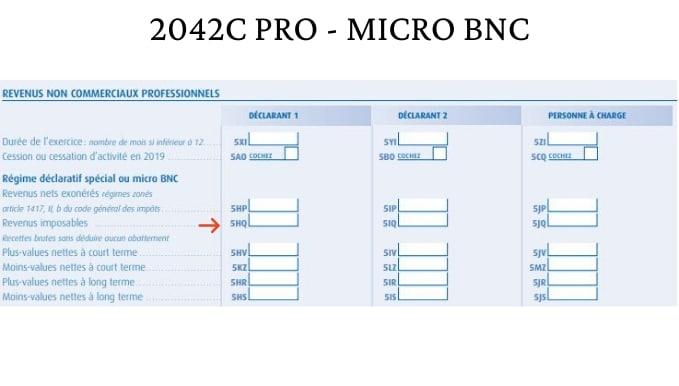 Micro BNC - IMPÔTS VDI mandataires