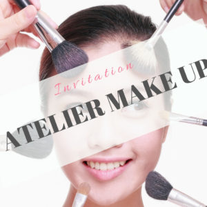 Invitation Atelier Make Up