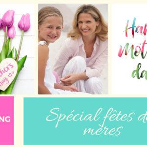shopping fête des mères