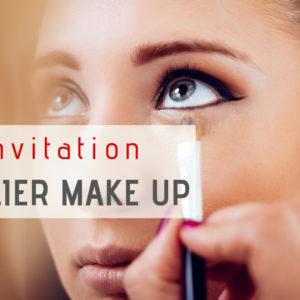 Invitation Atelier Make Up